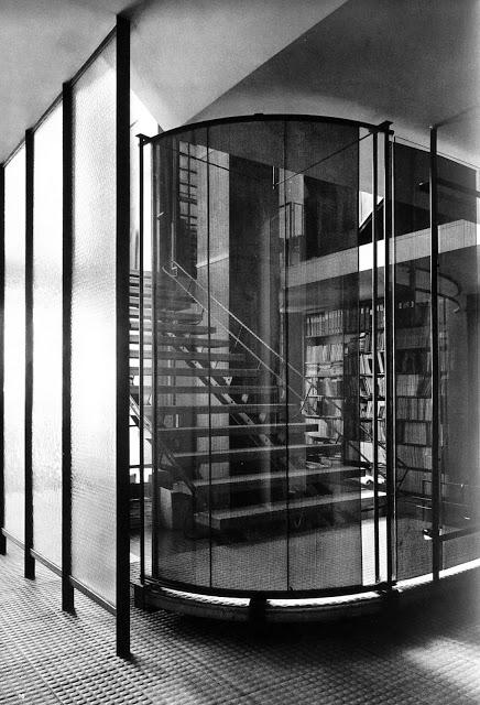 le container la maison de verre de pierre chareau 1937 dav. Black Bedroom Furniture Sets. Home Design Ideas