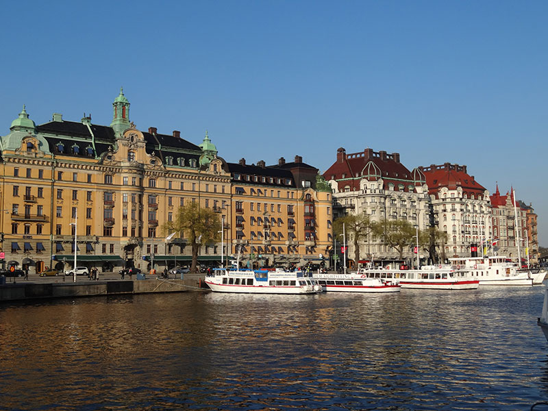 Stockholm WaterFront View