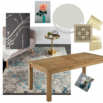 One Room Challenge Dining Room Makeover Mood Board