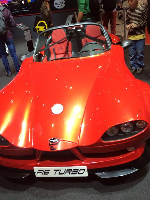 SECMA F16 turbo