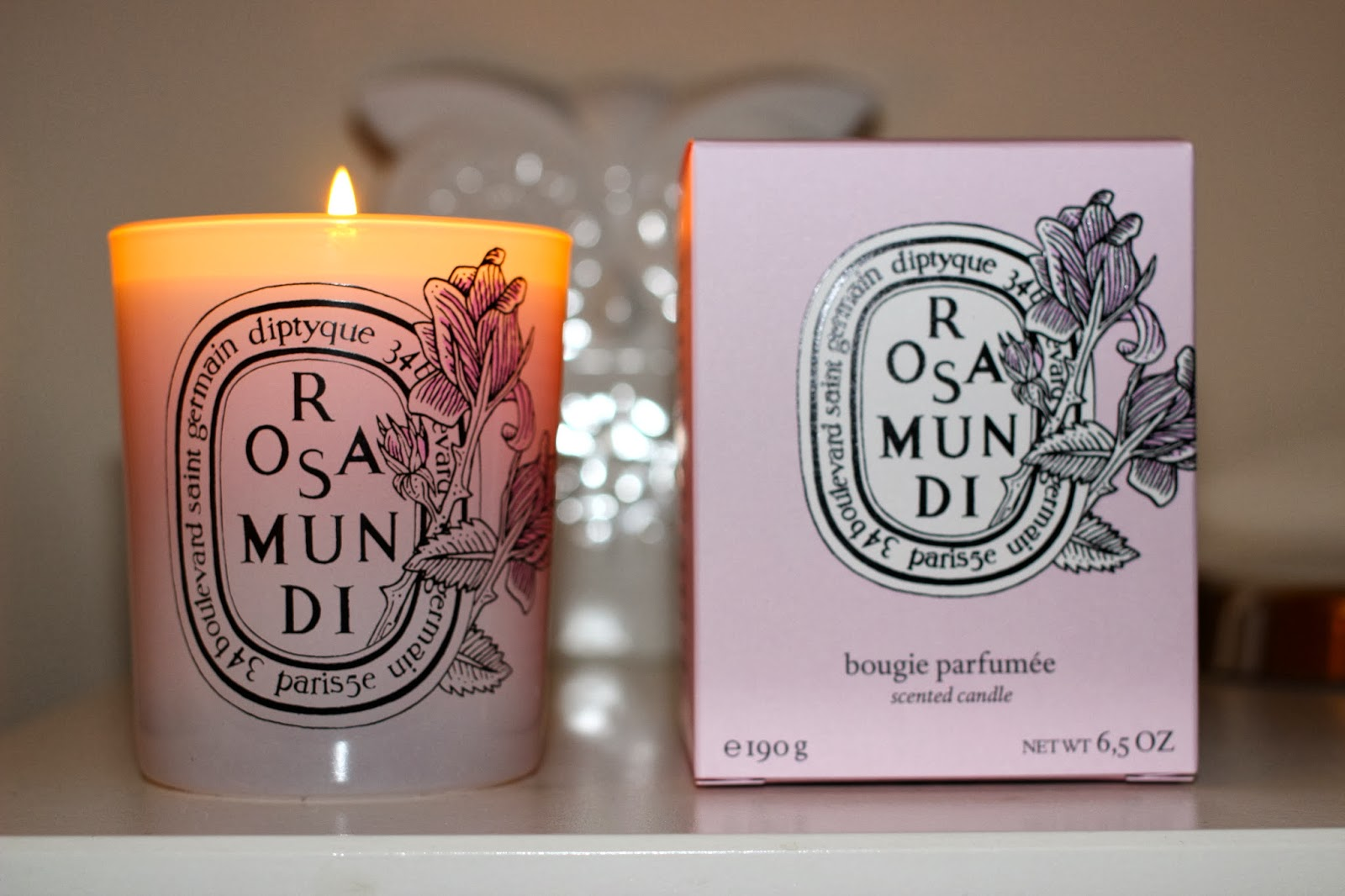 Review rosa mundi diptyque candle just lovely little things for Where to buy diptyque candles