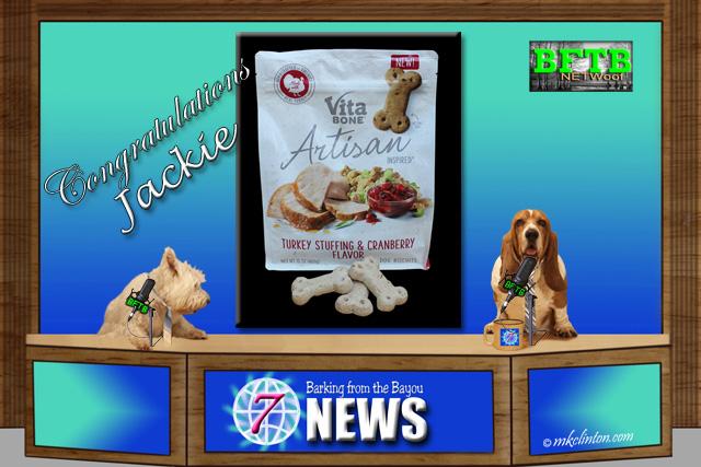 BFTB NETWoof News Vita Bones dog treats winner