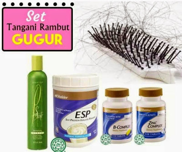 Image result for set rambut gugur shaklee