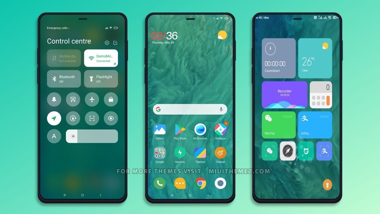 Nature MIUI Theme for MIUI 12 and MIUI 11