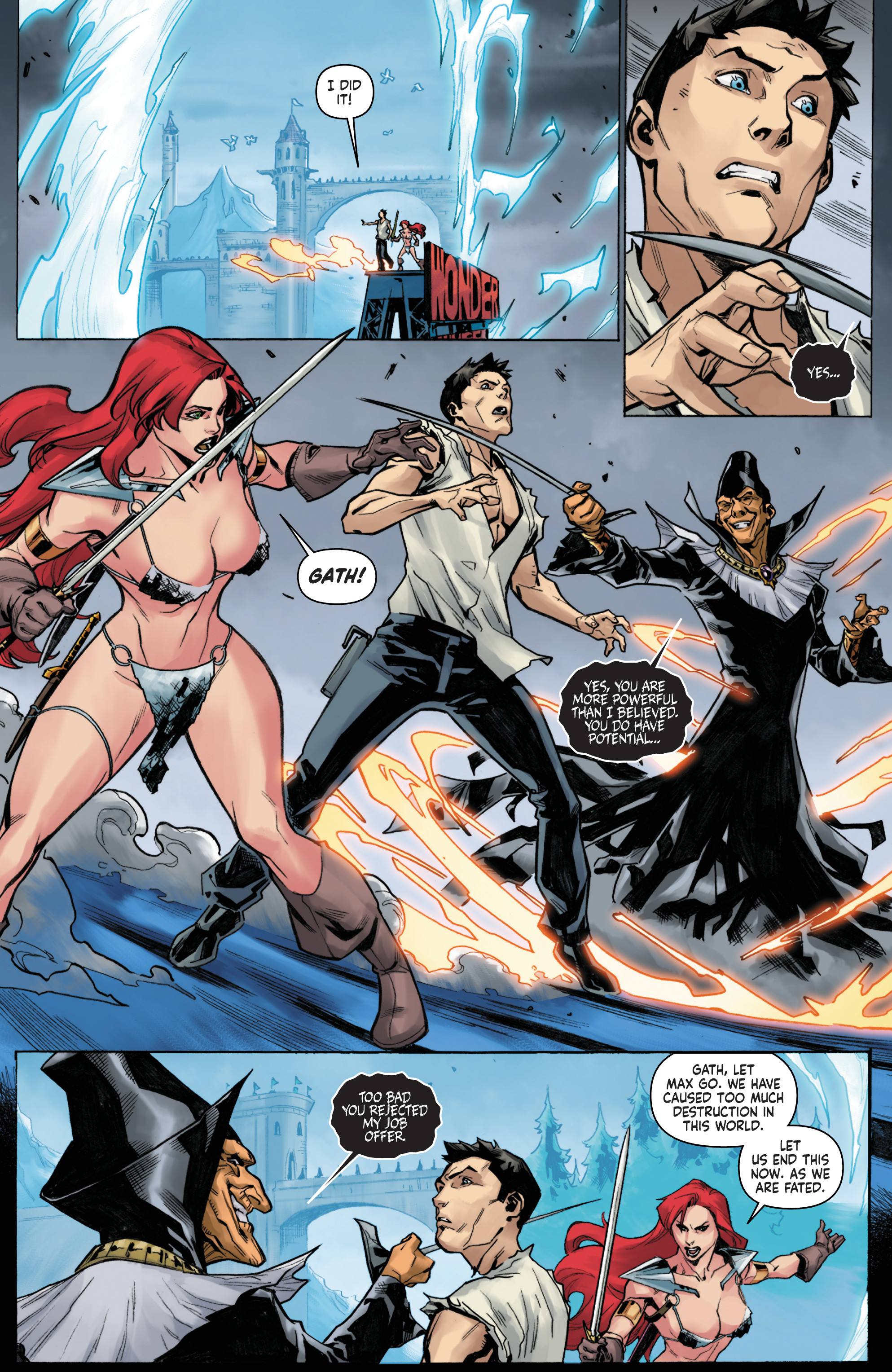 Read online Red Sonja Vol. 4 comic -  Issue #6 - 18