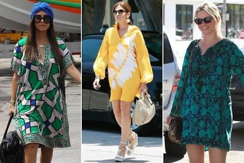 Vestido Moda Verano 2013:Tunica Imprimida