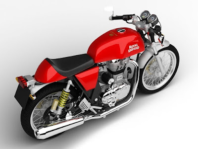 Royal Enfield Continental GT Red HD Wallpaper 2017