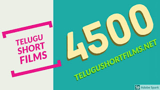 Telugushortfilms.net  website running toward the top of the websites with 4500 Short films at single  Host.