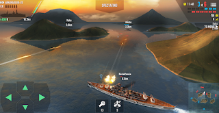 Fitur Battle of Warships Android