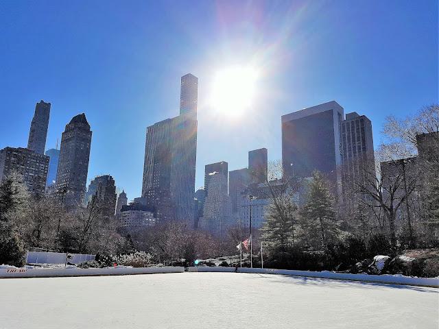 New York på vintern