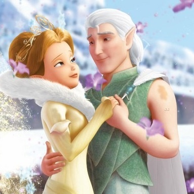 Tinker Bell FanfictionLord Milori And Queen Clarion Kiss