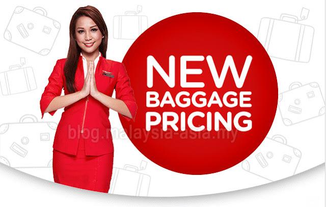 AirAsia Baggage Pricing Increased - Malaysia Asia Travel Blog