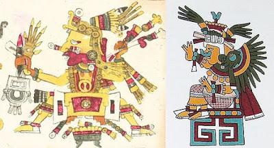 Los primeros dioses (Tonacatecuhtli y Tonacacihuatl)