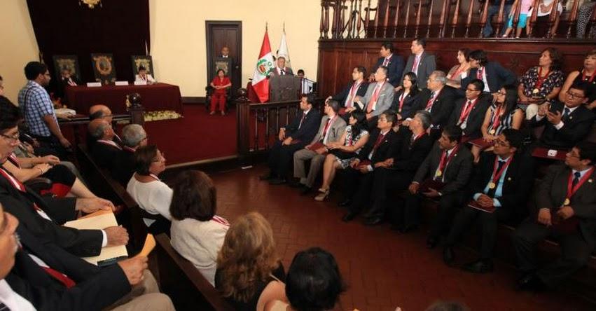 60 docentes con grado de magíster o doctor se incorporaron a Universidad San Marcos - UNMSM