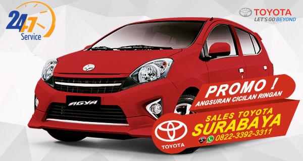 Promo Angsuran Cicilan Ringan Toyota Agya Surabaya