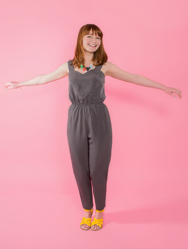 Marigold jumpsuit and trousers sewing pattern - Tilly and the Buttons