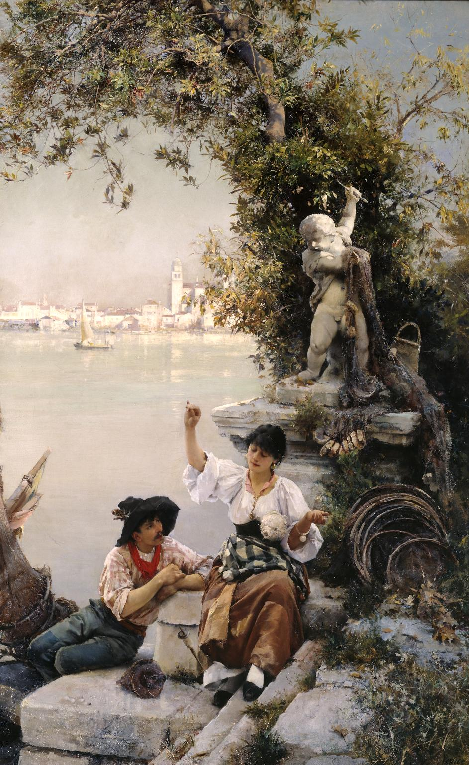 Henry Woods ~ Principal artista da escola neo-veneziana