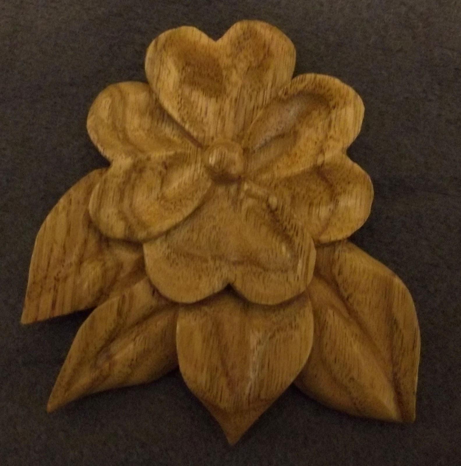 North Idaho Carver: Heart Flower