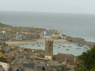 St. Ives town view, Cornwall