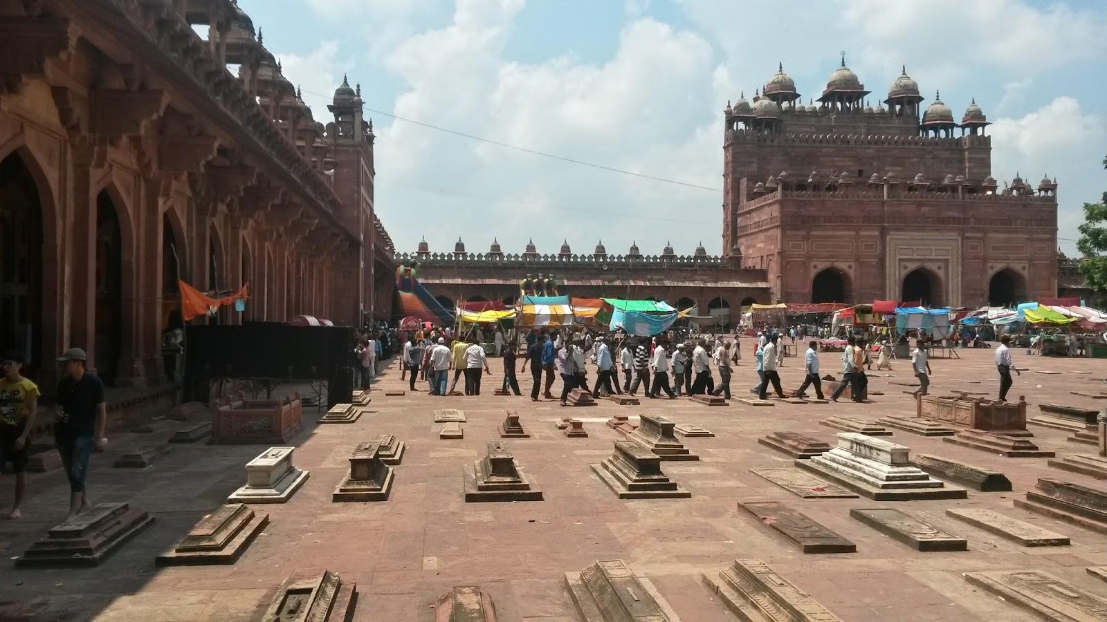 fatehpur sikri agra hindistan india