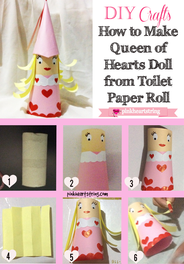 DIY doll toilet paper roll