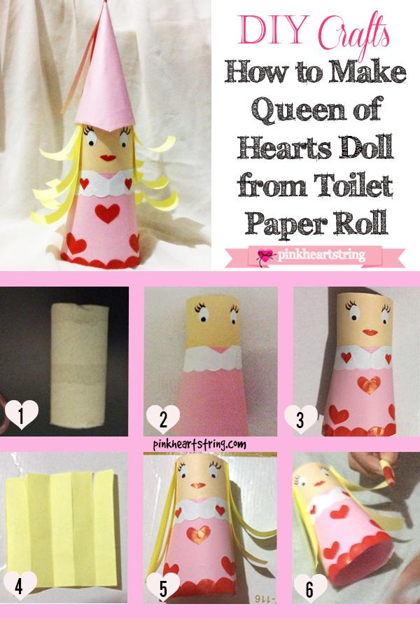 DIY doll toilet paper roll