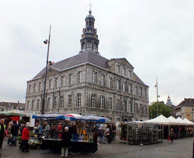 zona del mercado en Maastricht