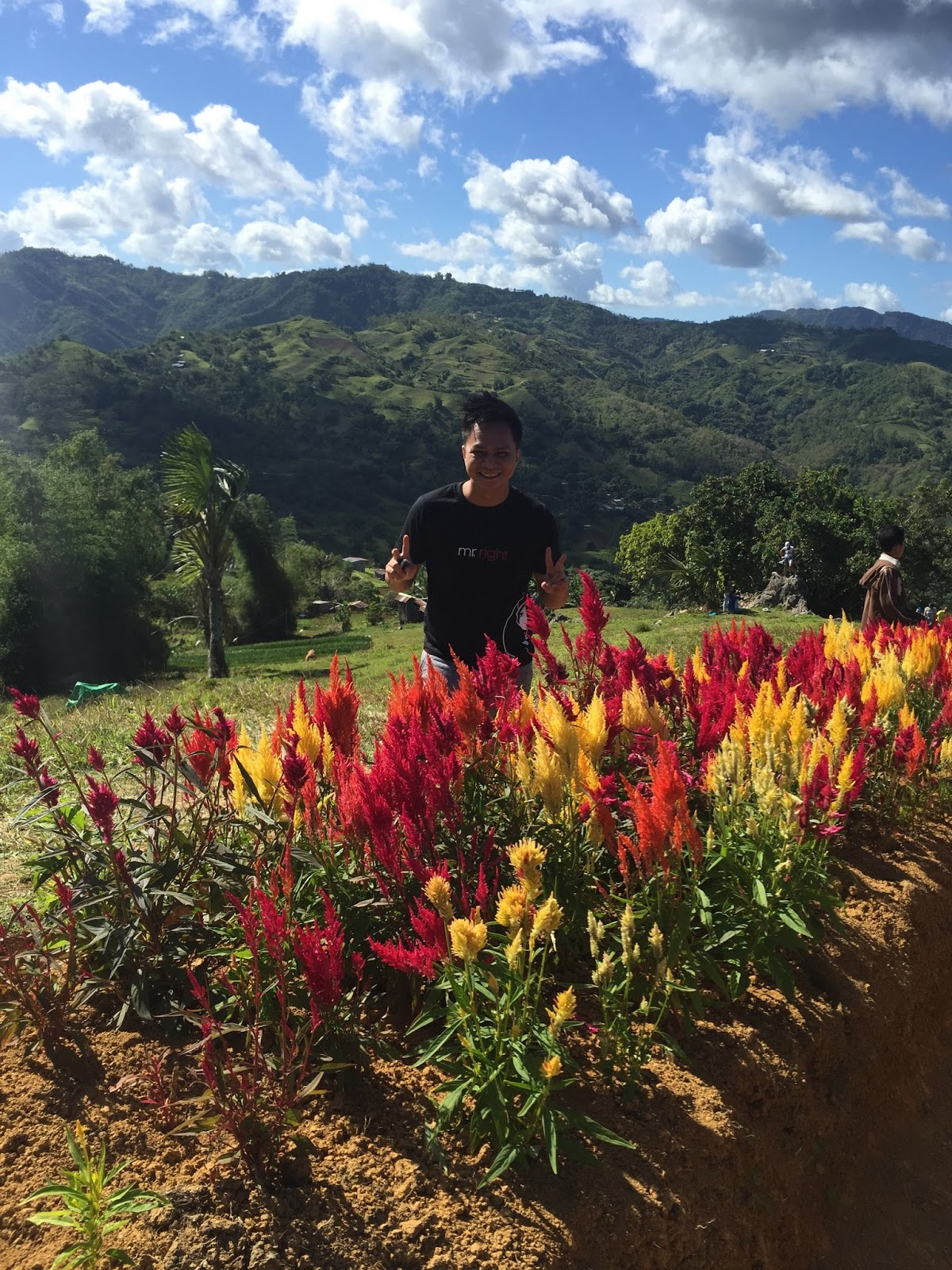 Mole On The Foot When In Cebu Sirao Flower Farm