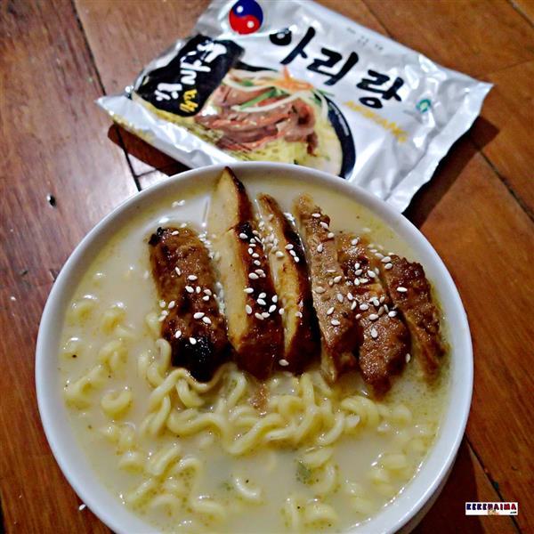 mie arirang korea hot instant halal