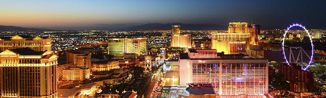 Consulte os hotéis de Las Vegas pela internet