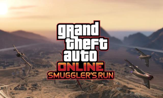 GTA V Smugglers Run
