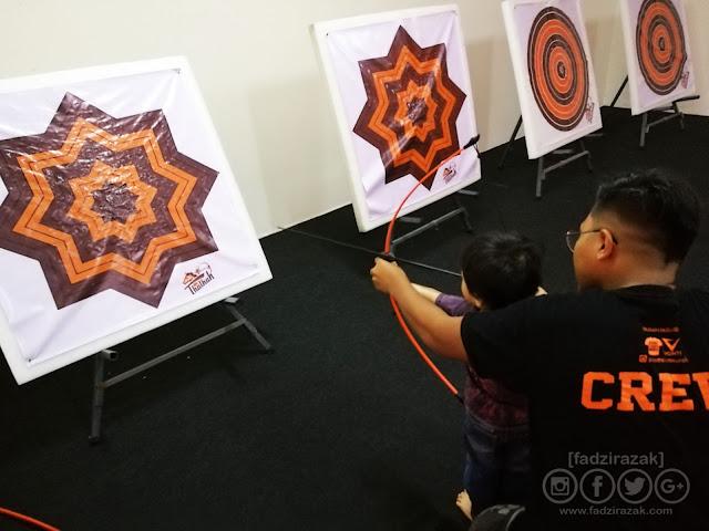 Kursus Pendek Archery Untuk Kanak-kanak