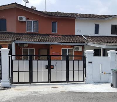 Foto 11: Binaan rumah dari luar