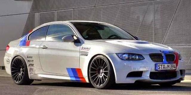 Foto Modifikasi Mobil BMW M3 Safety