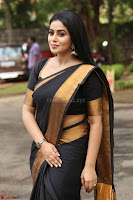 Poorna in Cute Backless Choli Saree Stunning Beauty at Avantika Movie platinum Disc Function ~  Exclusive 094.JPG