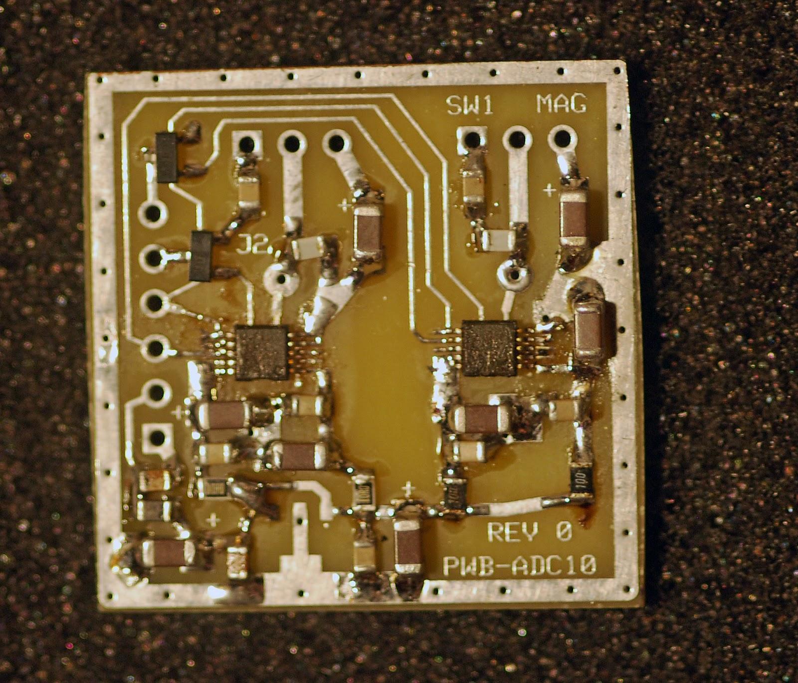 Rubi's World of embedded Electronics: Spectrum analyzer Part III ADC 16
