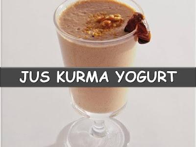 Jus Kurma Yoghurt