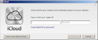 iCloud Sign In