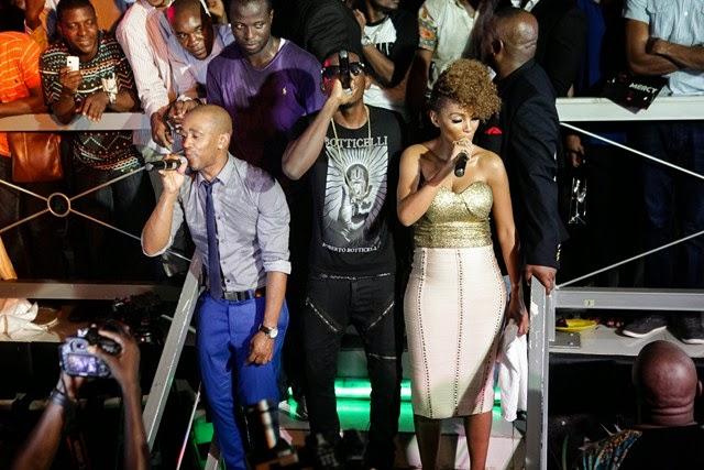 7 Pics: Davido, Mafikizolo, Kcee,Sound Sultan @Tchelete video launch