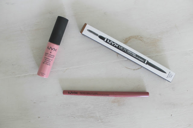 NYX, NYX Review, NYX Soft Matte Lip Cream, NYX Lip Liner, NYX Brow Pencil, New Beauty, Makeup, Haul, Makeup Haul, Beauty Haul, Makeup Review, Lips, Brows, NYX Soft Matte Lip Cream In Istanbul, NYX Lip Liner in Nude Pink, NYX Brow Pencil in Auburn, Beauty Blogger