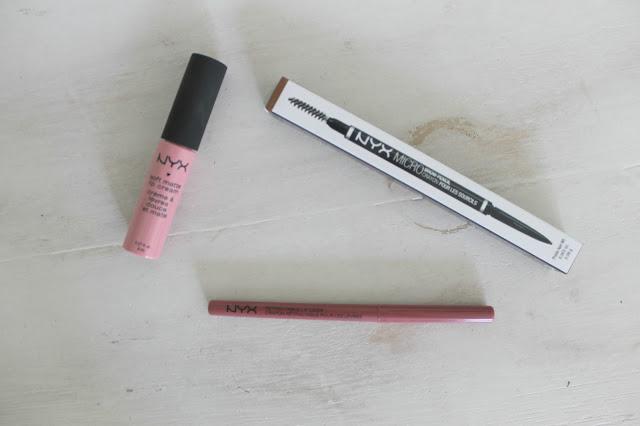 NYX, NYX Review, NYX Soft Matte Lip Cream, NYX Lip Liner, NYX Brow Pencil, New Beauty, Makeup, Haul, Makeup Haul, Beauty Haul, Makeup Review, Lips, Brows, NYX Soft Matte Lip Cream In Istanbul, NYX Lip Liner in Nude Pink, NYX Brow Pencil in Auburn, Beauty Blogger