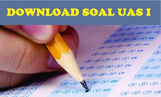 Download Soal UAS I 2016/2017