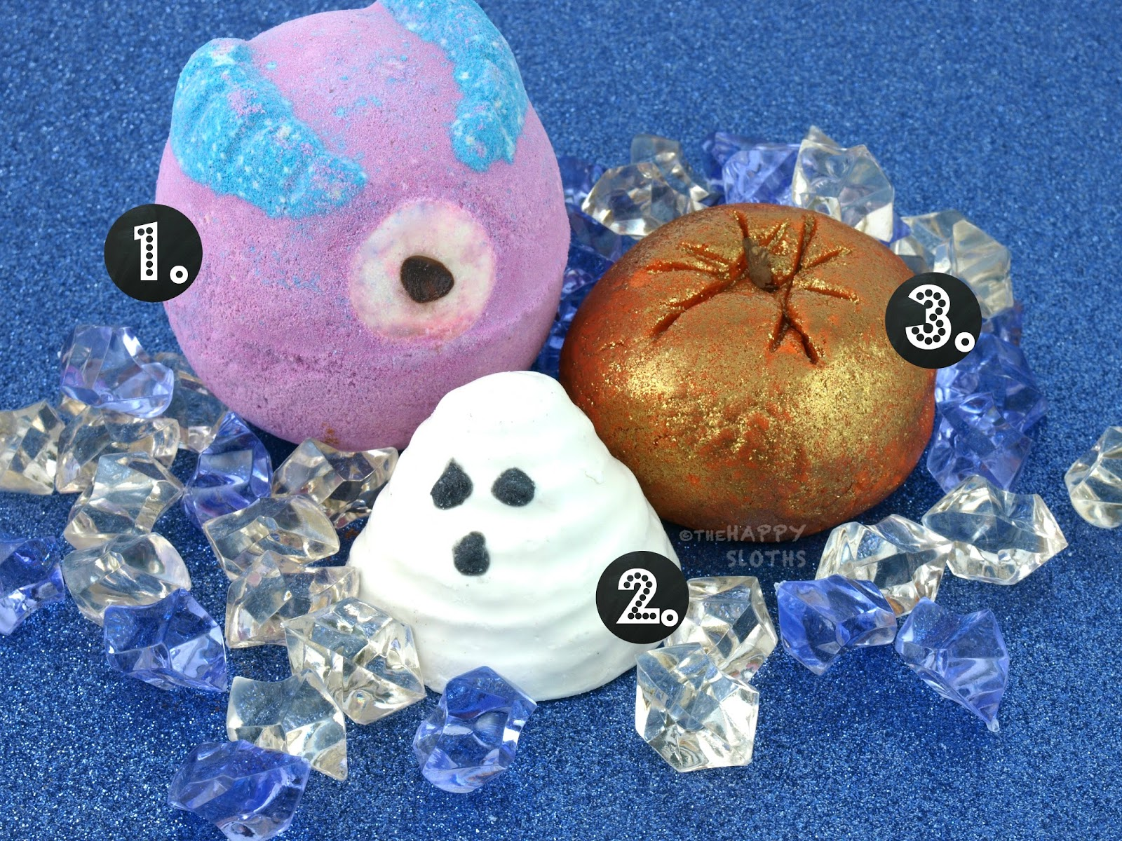 Lush Halloween Monsters Ball Sparkly Pumpkin Boo