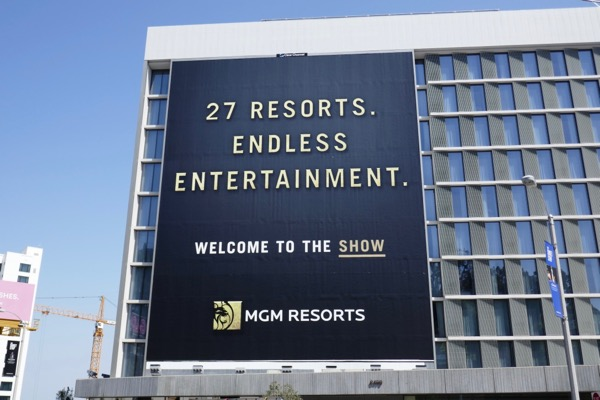 Giant MGM Resorts billboard
