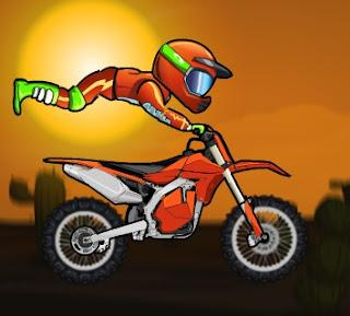 لعبة دراجات نارية سريعة