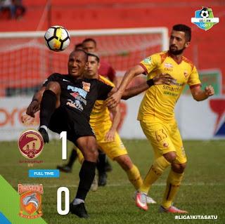 Sriwijaya FC vs Borneo FC 1-0