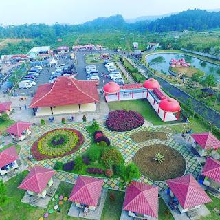 Lokasi Dan Rute Rest Area Lembah Asri Serang Purbalingga