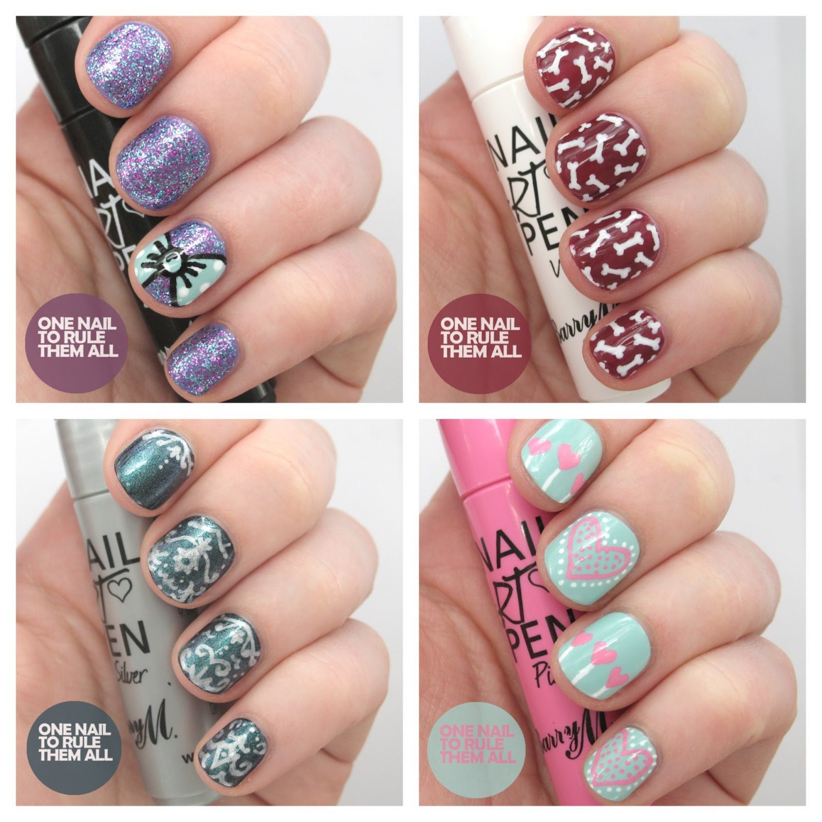 Nail Art Pens: One Nail To Rule Them All: Barry M Nail Art Pens Review
