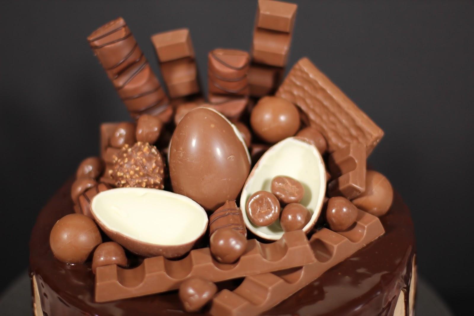 kinder choklad tårta