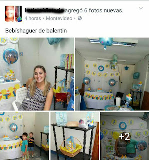error de ortografia baby shower
